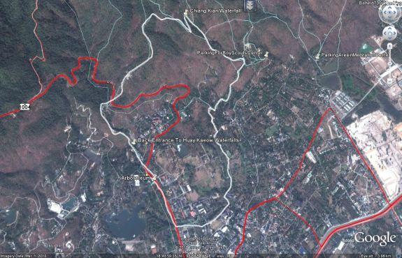 Chiang Kian circular hike from arboretum
