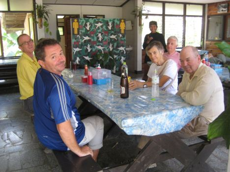 Lunch stop at Khun Tan Park HQ - photo: Brian