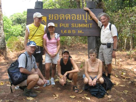 Doi Pui Summit - from the archives