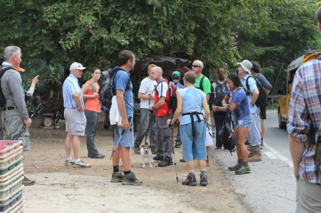 Start the hike pictures by Chan