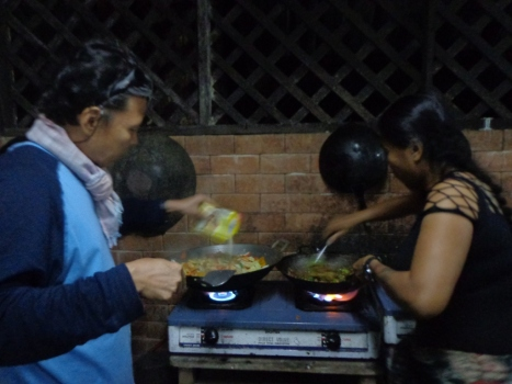 Cooking photo by Janet