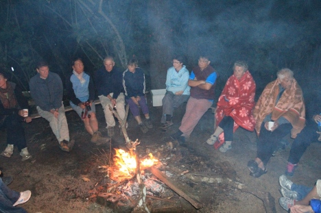 Around the campfire photo by Chan