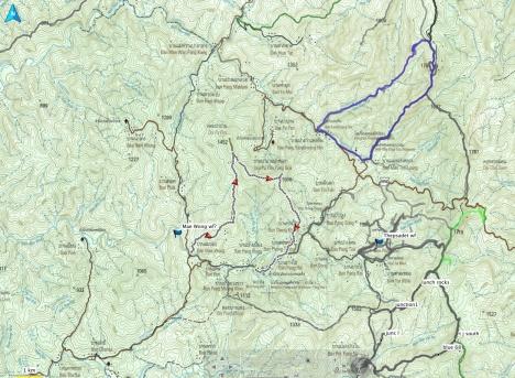 Dragon Peak map