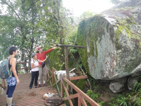 Deciphering the Legend (granite). Photo by Bob K.