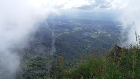 View across the north part of the Lampang valley